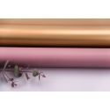 Matte double sided film 60 × 60 cm 036 Rictorian Rose + Gold