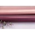 Matte double sided film 60 × 60 cm. Pink gold 018 Wine