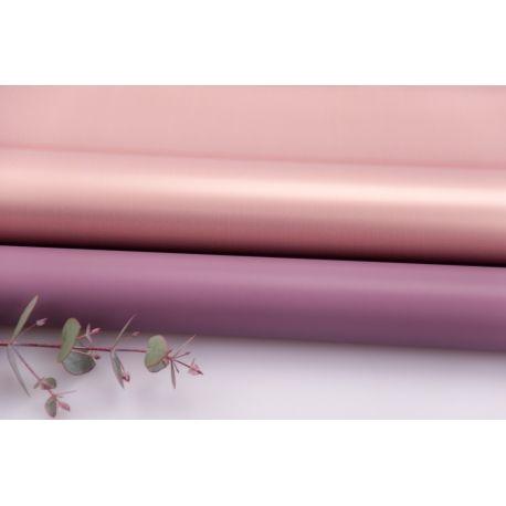 Плівка матова двостороння 60 × 60 см. Pink gold баклажан