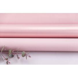 Плівка матова двостороння 60 × 60 см. Pink gold пудра