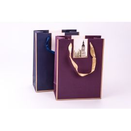 "Package of cardboard 18 cm × 24 cm × 8.5 cm ""Architectural Masterpieces"" viola"
