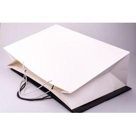 Пакет паперовий великий 38 см × 60 см × 19 см білий