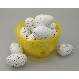 Easter eggs in the basket 18 pcs