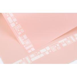 Пленка геометрия Light Pink