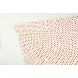 Бумага мелованная (сердечки) 0.7х1.5 м