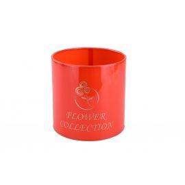 Тубус для квітів пластиковий (червоний)