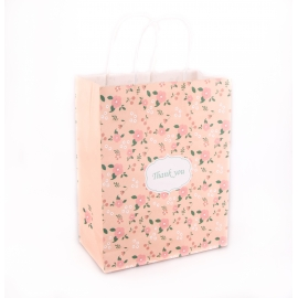"The package is large, 40 cm × 50 cm × 15 cm. ""In flowers"""