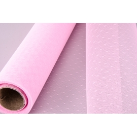 """Cітка вуаль """"Point"""" рожева"""