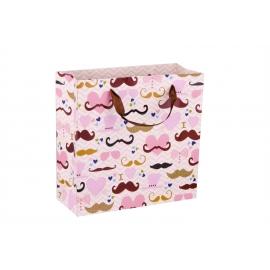 """Пакет картонный 29.8 см х 29.8 см х 12.8 см """"Из усами"""""""