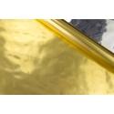 Пленка металлизированная 0,7 м х 9 м двухсторонняя (золото + серебро)