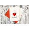 Листівка 9,5 см × 14 см серії «Love»