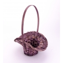 Корзина коричневая шляпка 22 см.×17 см.× 30 см.