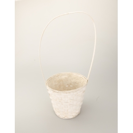 The basket is a white hat 22 cm × 17 cm × 30 cm.