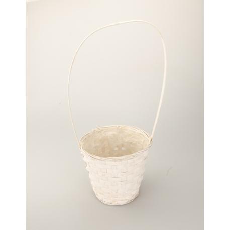 The basket is a white hat 22 cm × 17 cm × 30 cm.