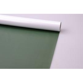 Пленка матовая 0.7 × 10 олива + белый