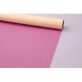 Плівка матова 0.7 × 10 двостороння слива + крем