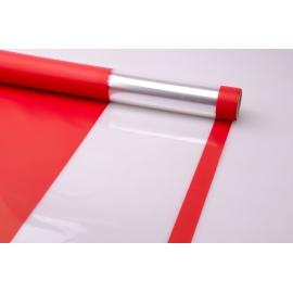 Пленка тонированная 0.7 × 10 м. «Light Level» красная