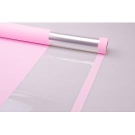 Пленка тонированная 0.7 × 10 м. «Light Level» светло розовая