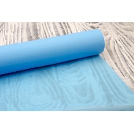 Пленка матовая 0.7×20 голубая