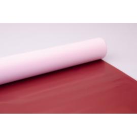 Пленка матовая 0.7 × 10 м. светло розовтий + корица 801