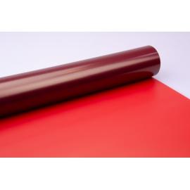 Пленка матовая 0.7 × 10 м. розовый+малина
