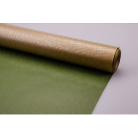 Kraft Paper President ™ green + gold