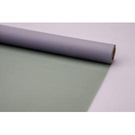 Matte film 0.7 × 10 m. Gray + vintage olive