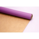 Paper Double Sided 07*10m Сraft + Lilac 502