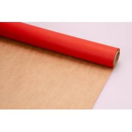 Paper Double Sided 07*10m Сraft + Red 703