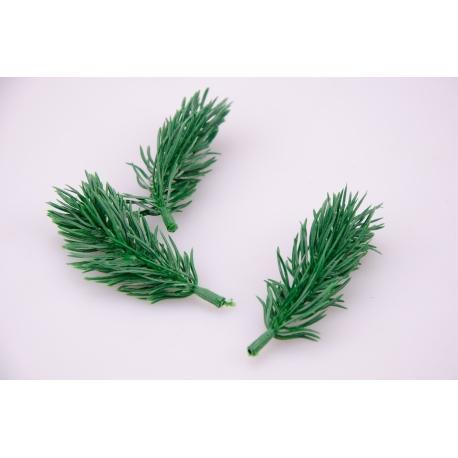 ветвь елочная зеленая в пачке (60шт)