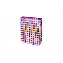 """Пакет картонний 19.6 х 24.5 х 8.8 см.""""Мозаїка"""""""