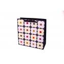 "Package cardboard 25x25x10 сm ""Big flowers"""