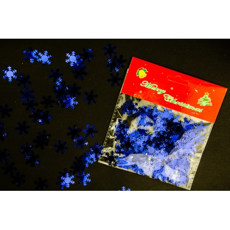 """Powder in a pack of """"Snowflakes"""" Blue 15g"""