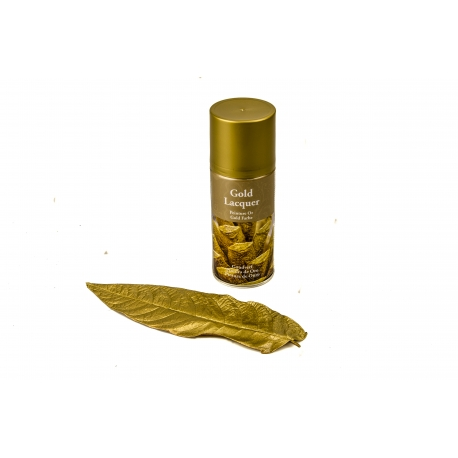 Spray paint for flowers (Gold)