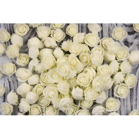 Роза 3 см розовая