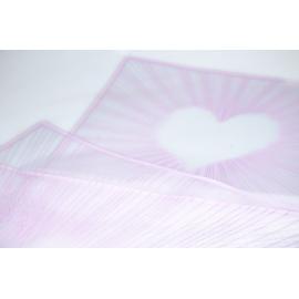 """Плівка матова """"Cмугасте Cерце"""" 60 × 60 см 031 Lilac"""