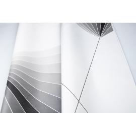 The film matt gradient 60 × 60 cm 123 Dusty Silver