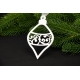 Підвіска з дерева «Іграшка новорічна» в асортименті