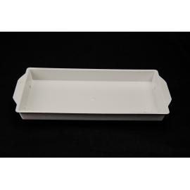 Пластиковий поддон білий 26х12.5х2см OASIS®