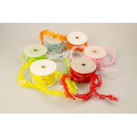 Synthetic ribbon with beads 2m