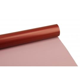 Плівка матова 0,6м*10м Perl рожевий+шоколад 805