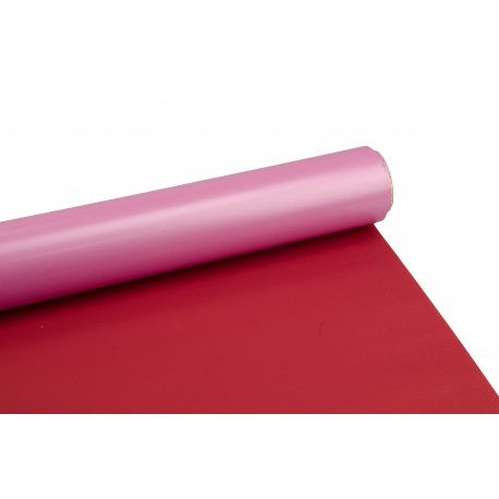 The film is matte 0,6m * 10m Perl Red + Plum 509