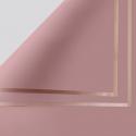 Плівка матова в листах P.GDM 163 Tawny із золотою каймою