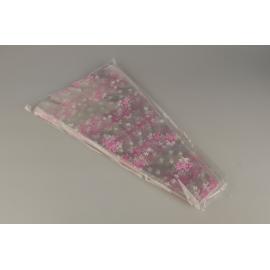 Package for flowers V 50 * 29 * 6 cm