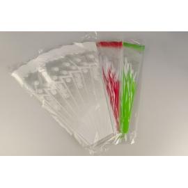 Пакет для квітів V 50*45*9 см 100 шт. з малюнком