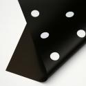 """Matte film """"Pea"""" in roll 0,7 х 9м P.XXY-171 Black"""