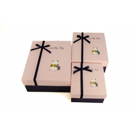 Набір коробок для подарунків з 3 шт 107-39 Панда