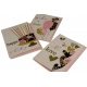 Greeting card with envelope 17 * 12.5cm WISH-1906 with glitter