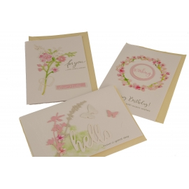 Greeting card with envelope 17 * 11.5cm WISH-1802