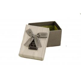 Картонна коробка для прикрас D46-45 сіра